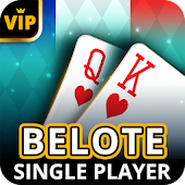 Belote Offline - Single Player Card Game Android APK Download Free By Casualino Games
