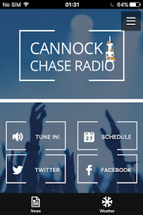 Cannock Chase Radio- screenshot thumbnail
