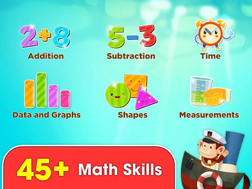 Monkey Math: math games & practice for kids screenshot 20