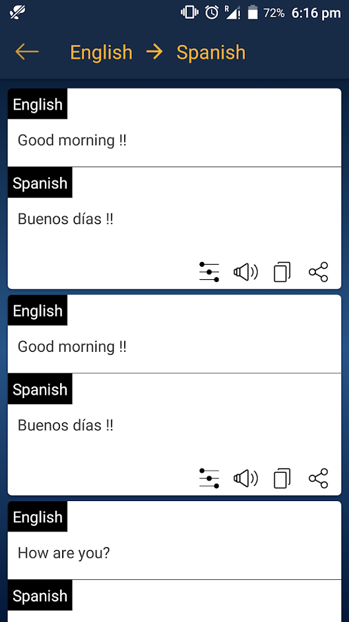 Interpreter : Instant Voice & Text Translator- screenshot