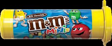Chocolate M&M´S Minis   X1Tub X30.6G.