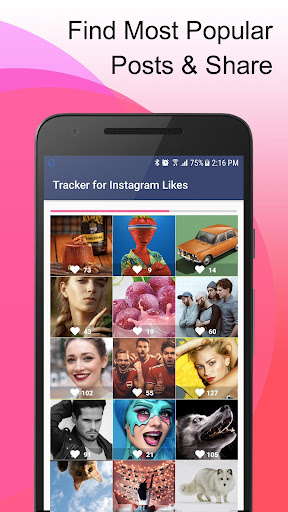 Tracker for Instagram Likes & Followers 1.0.3 screenshots 2