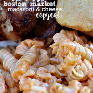 Best Boston Market Macaroni and Cheese Copycat