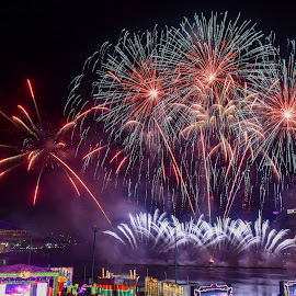 by Koh Chip Whye - Abstract Fire & Fireworks