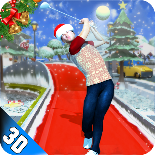 Mini Golf Christmas Stars Clash: Winter Holidays (game)