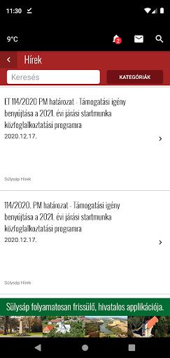 CityApp Sülysáp screenshot 2