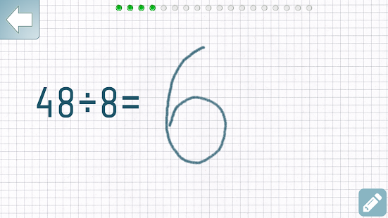 Dividieren Mathe Trainer Screenshot
