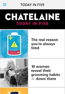 Chatelaine Magazine- screenshot thumbnail