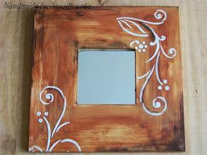 Photo: wooden mirror 14