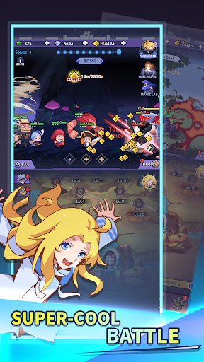 Idle Summoner: Grand Battle capturas de pantalla 3