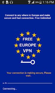 Europe Vpn Free - náhled