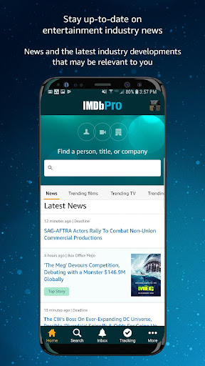 IMDbPro Business app for Android Preview 1