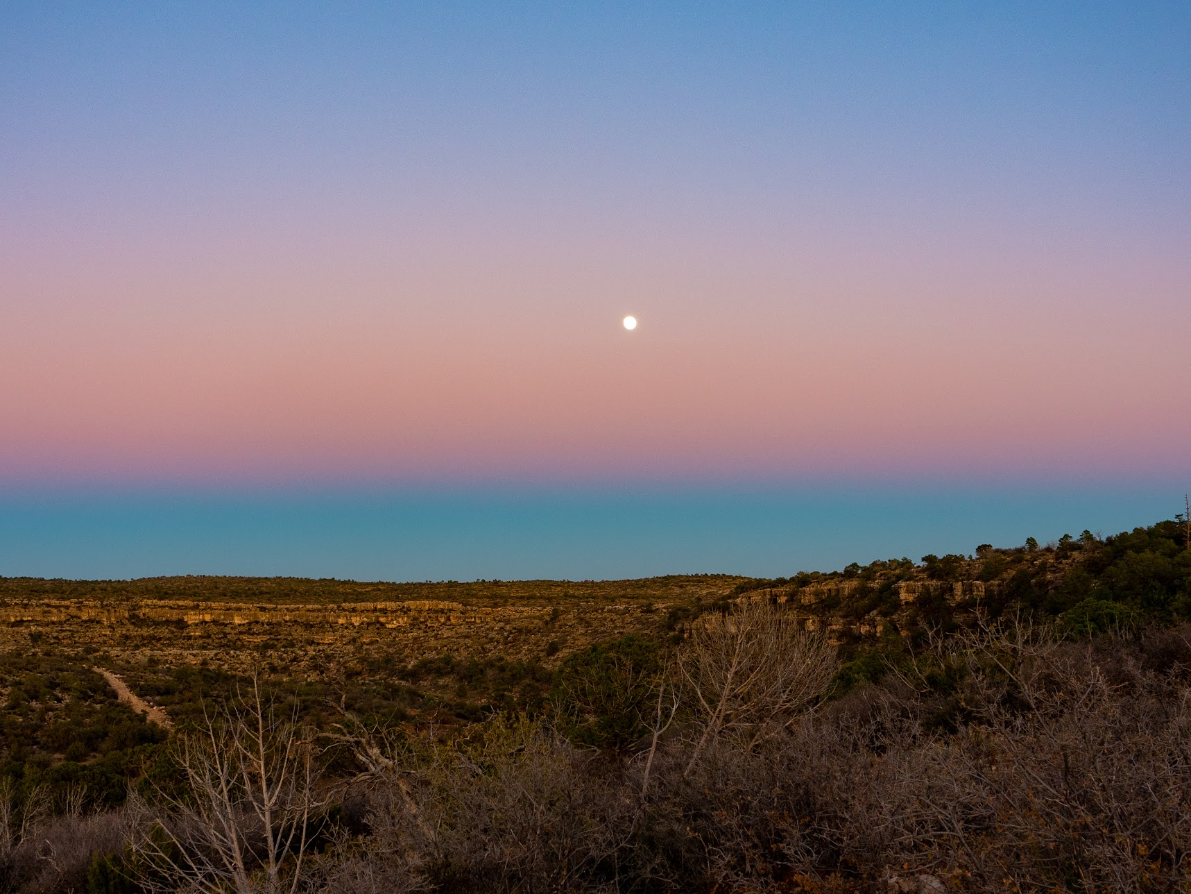 Moonrise, again
