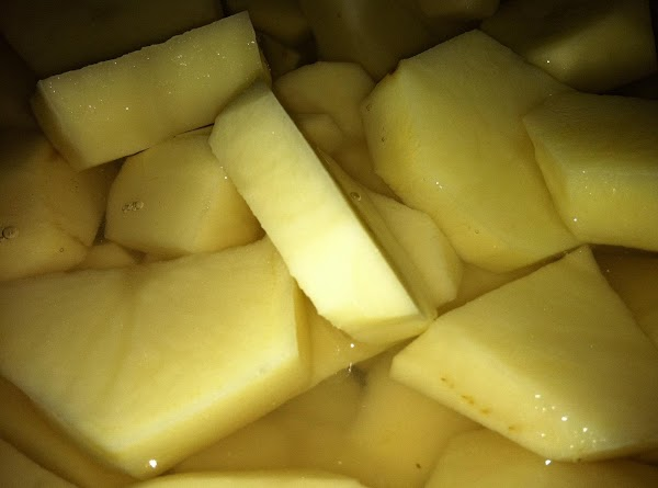 Add potatoes and half the broth. Cook 10 minutes.Add remaining broth, pickles, pickle juice,...