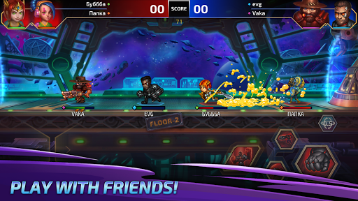 King Crushers: Online fighting  code Triche 1