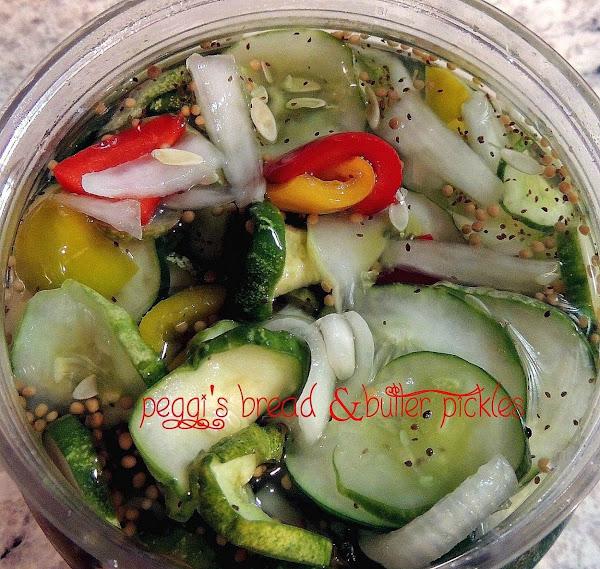 Peggi's Bread & Butter Pickles Recipe