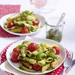 Chicken Pesto Pasta.