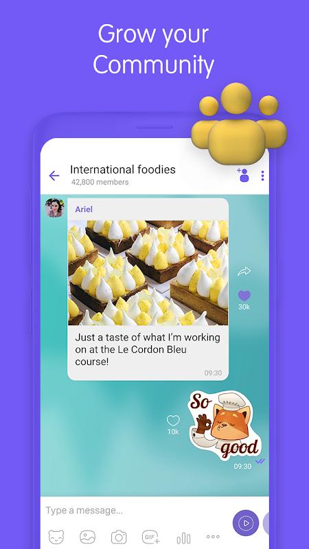 Viber Messenger screenshots