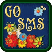 GO SMS PRO THEME SUMMER FLOWER