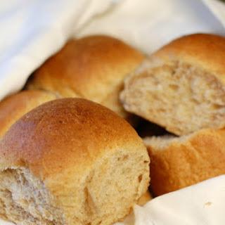 Whole Wheat Coco Bread Rolls.