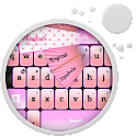 Black and Pink Keyboard icon