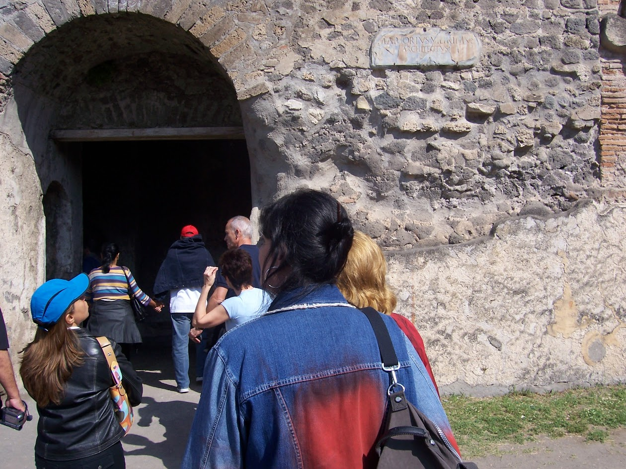 Pompéia, Itália