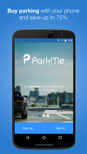 ParkMe Parking screenshot 1