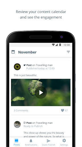 Hub by Falcon.io 2.0.9 screenshots 1