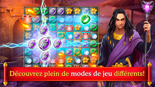 Cradle of Empires Match-3 Game APK MOD (Astuce) screenshots 2