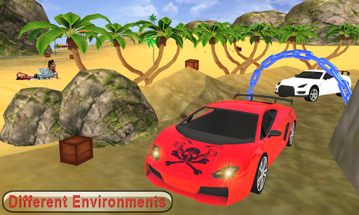 Water Surfer car Floating Beach Drive apkpoly screenshots 5
