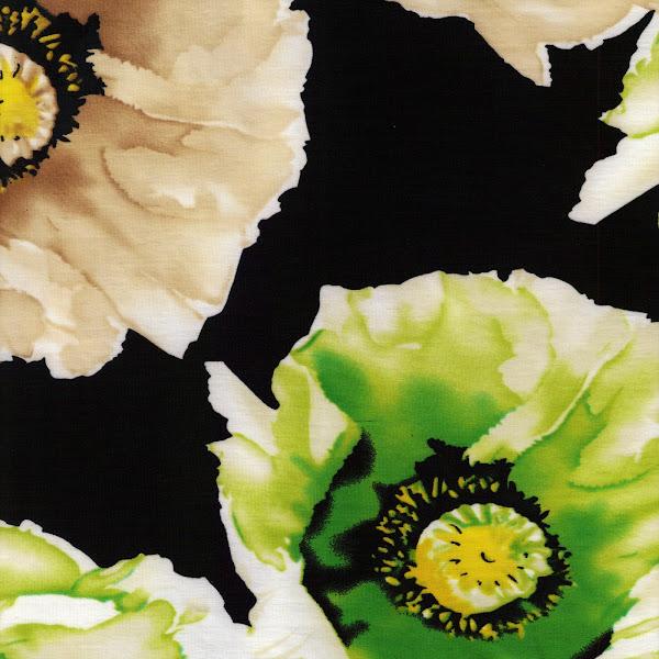 Photo: black floral