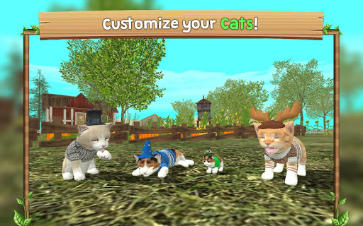 Cat Sim Online: Play with Cats 4.1 Cheat screenshots 5