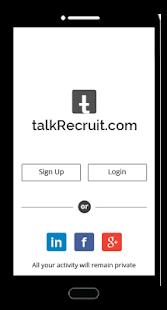 talkRecruit - náhled