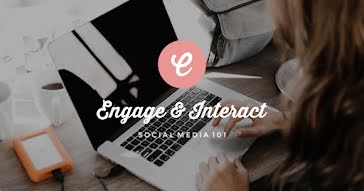 Engage & Interact - Facebook Event Cover Template