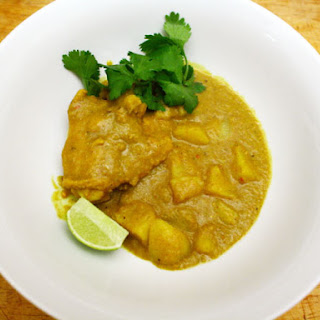 Chicken, Lemongrass, and Potato Curry (Ca-Ri Ga)