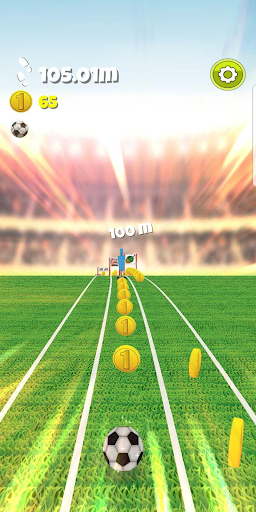 Football Runner - The Endless soccer game screenshot 2