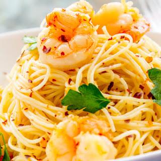 Shrimp Scampi with Capellini