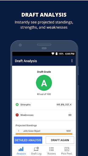 Fantasy Football Draft Wizard (NFL 2017) screenshot 5