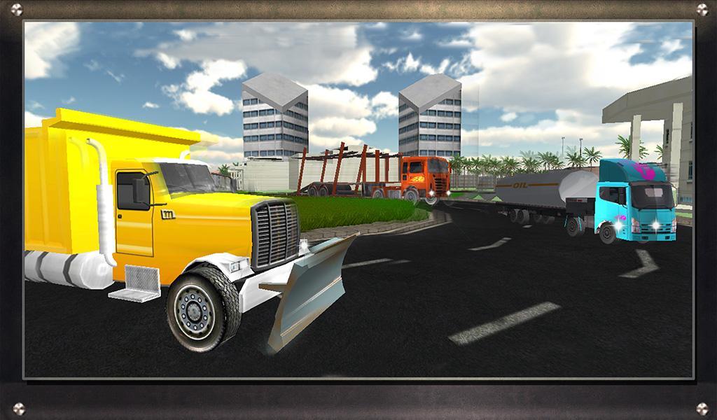 Real-Oil-Tanker-Truck-Driving 33