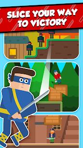 Mr Ninja – Slicey Puzzles (MOD, Skins Unlocked) 4