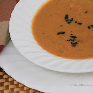Spicy and Sweet Potato Soup