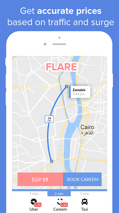 Flare - Carsharing Together- screenshot