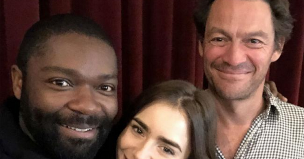 David Oyelowo for BBC's Les Miserables