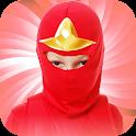 Ninja Head Photo Stickers icon