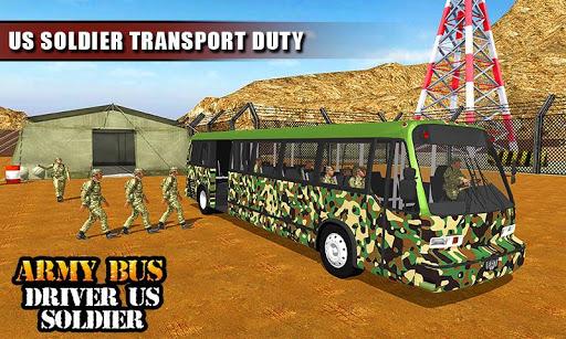 Army Bus Driver 2020: Real Military Bus Simulator apktram screenshots 6