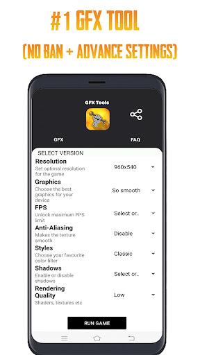 GFX Tool PUBG Proud83dudd27 (No Ban + Advance Settings)  screenshots 1