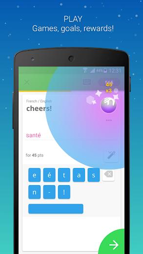 Screenshot 3 for Memrise's Android app'