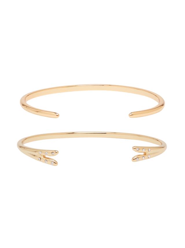 tailored wardrobe - Michelle Campbell Gold Talon Bracelet Set