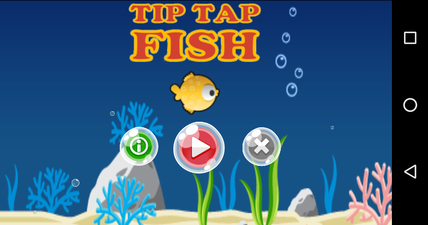 Tip tap fish tracker android apps on google play for Tap tap fish game