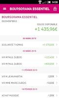 Screenshot of Boursorama Banque